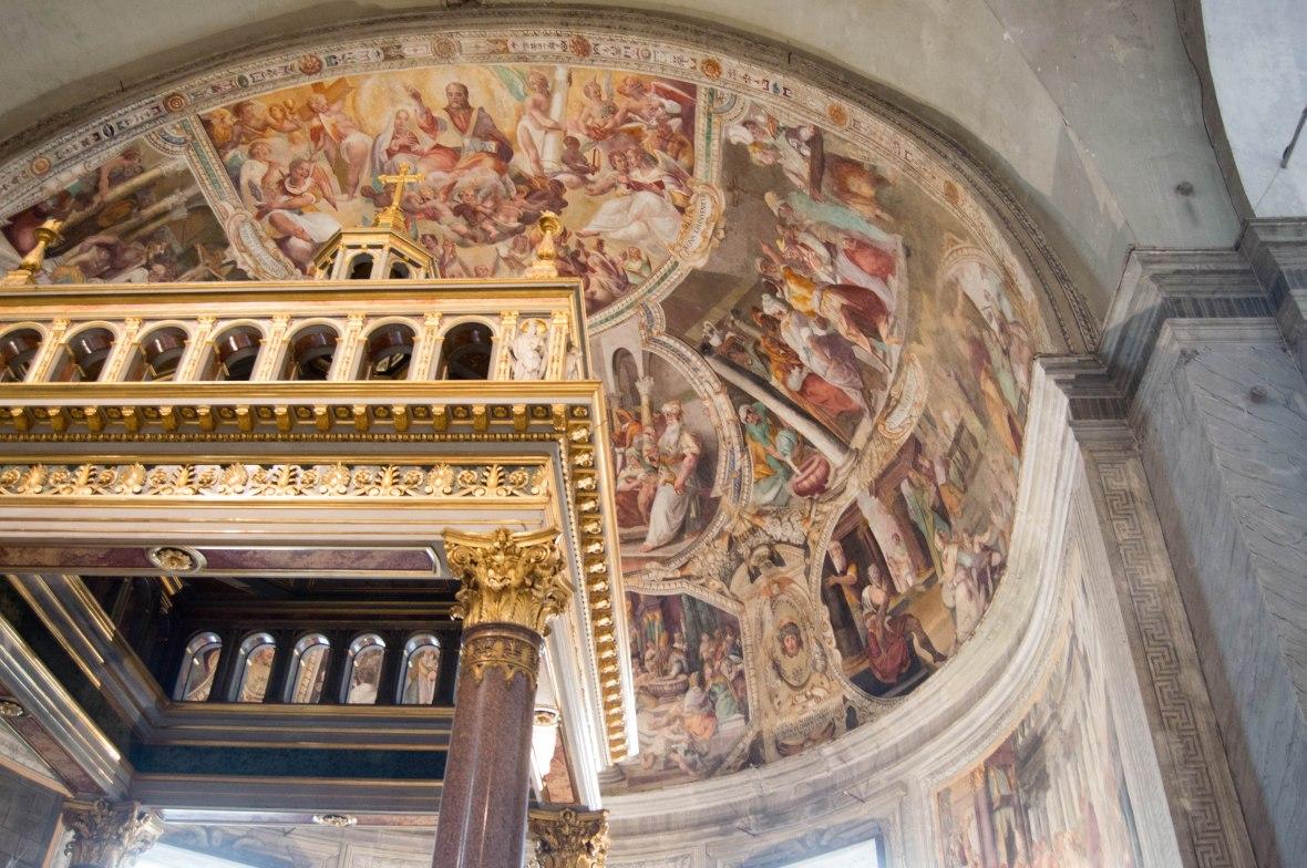 Alter, Basilica Di San Pietro In Vincoli, Rome, Italy