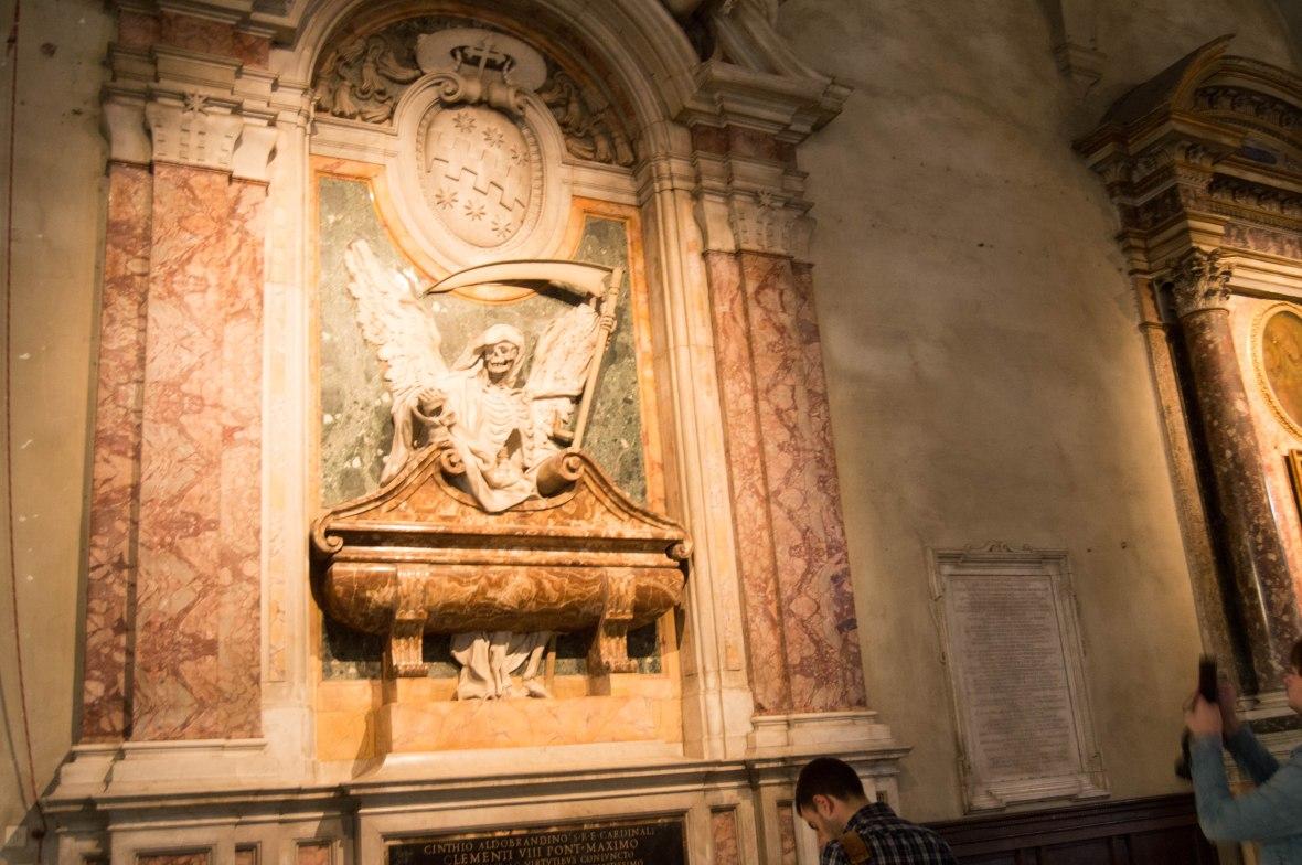 Angel Of Death, Basilica Di San Pietro In Vincoli, Rome, Italy