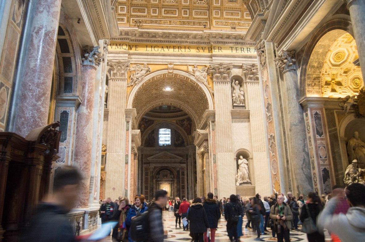 Arches, Basilica Di San Pietro, Vatican