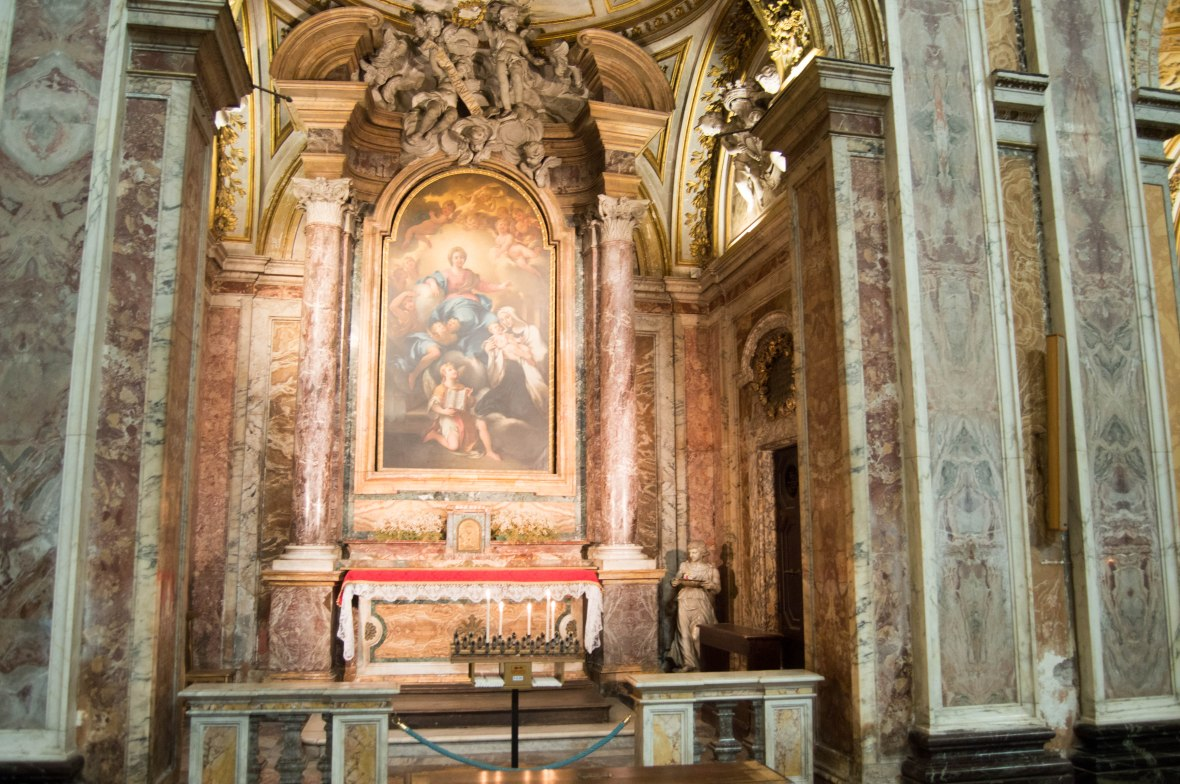 Candles, Basilica Di Santa Francesca Romana, Rome, Italy
