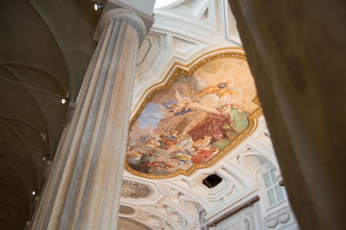 Ceiling, Basilica Di San Pietro In Vincoli, Rome, Italy