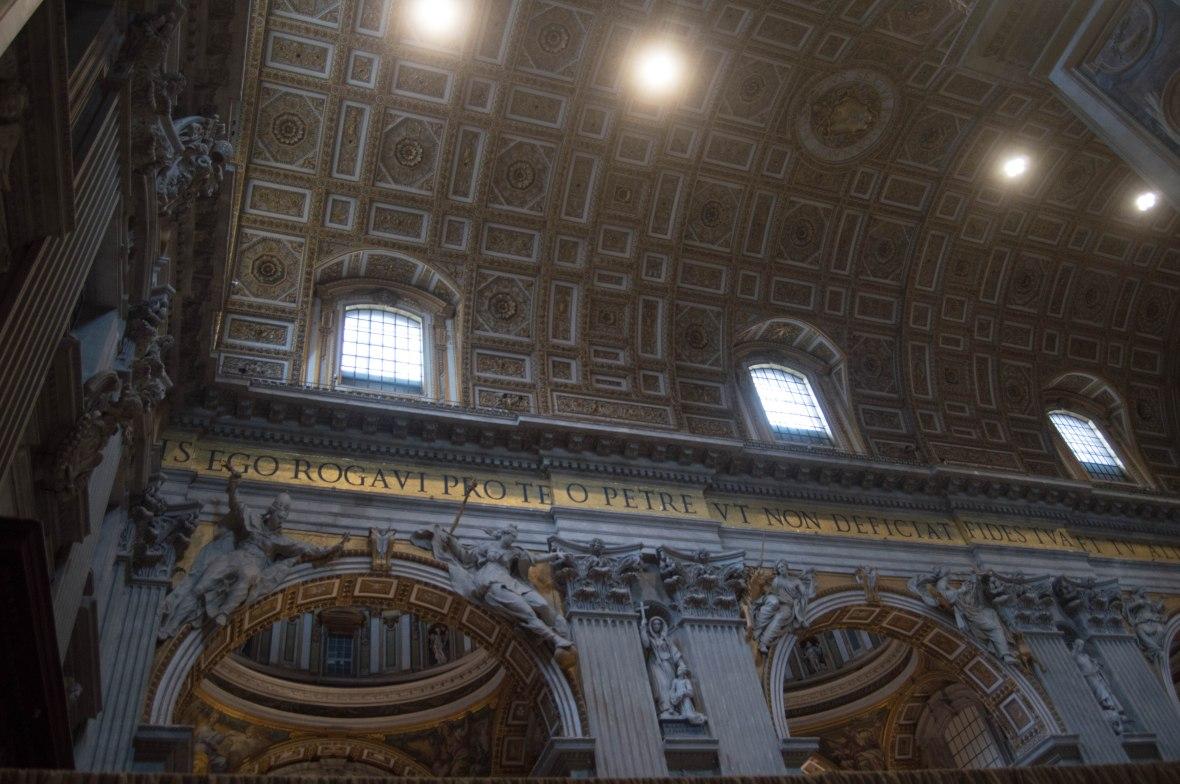 Ceiling, Basilica Di San Pietro, Vatican
