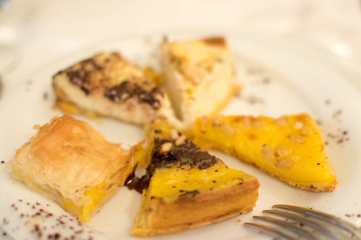 Cheesecake Selection, Nonna Betta, Rome, Italy