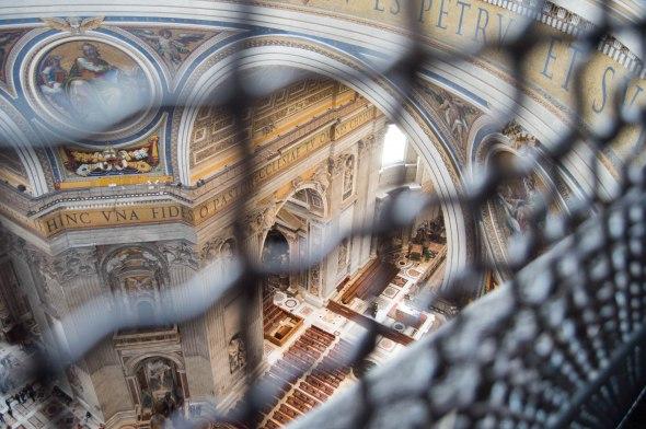 Climbing Basilica Di San Pietro, Vatican