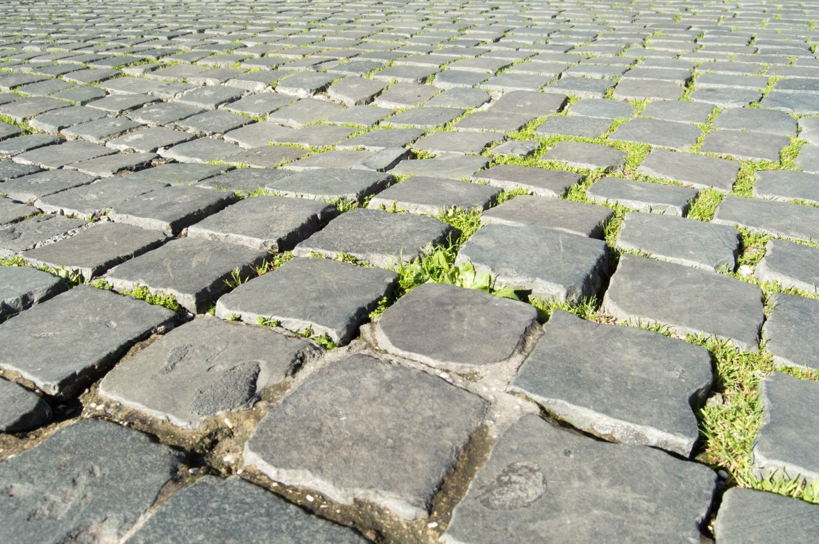 Cobbled Pavements, Rome, Italy