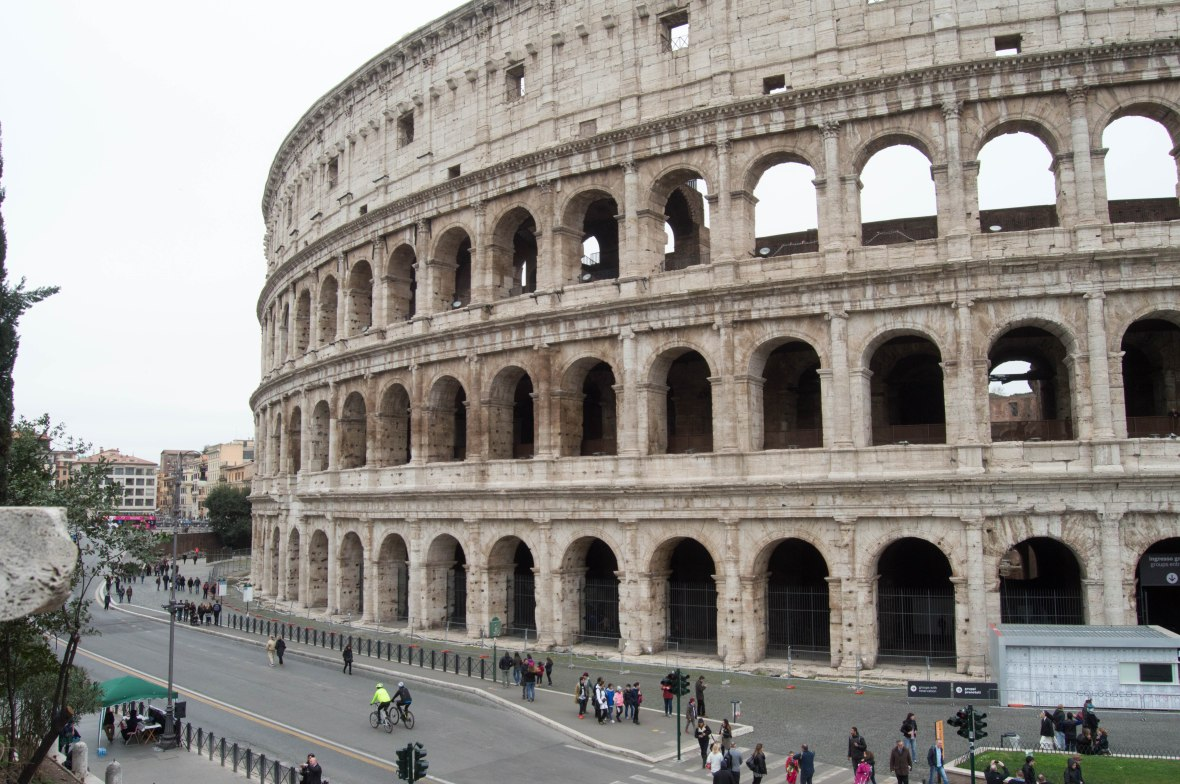 Colosseum, Flavian Amphitheatre, Rome, Italy