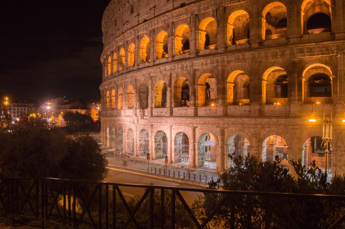 Colosseum, Night, Rome, Italy