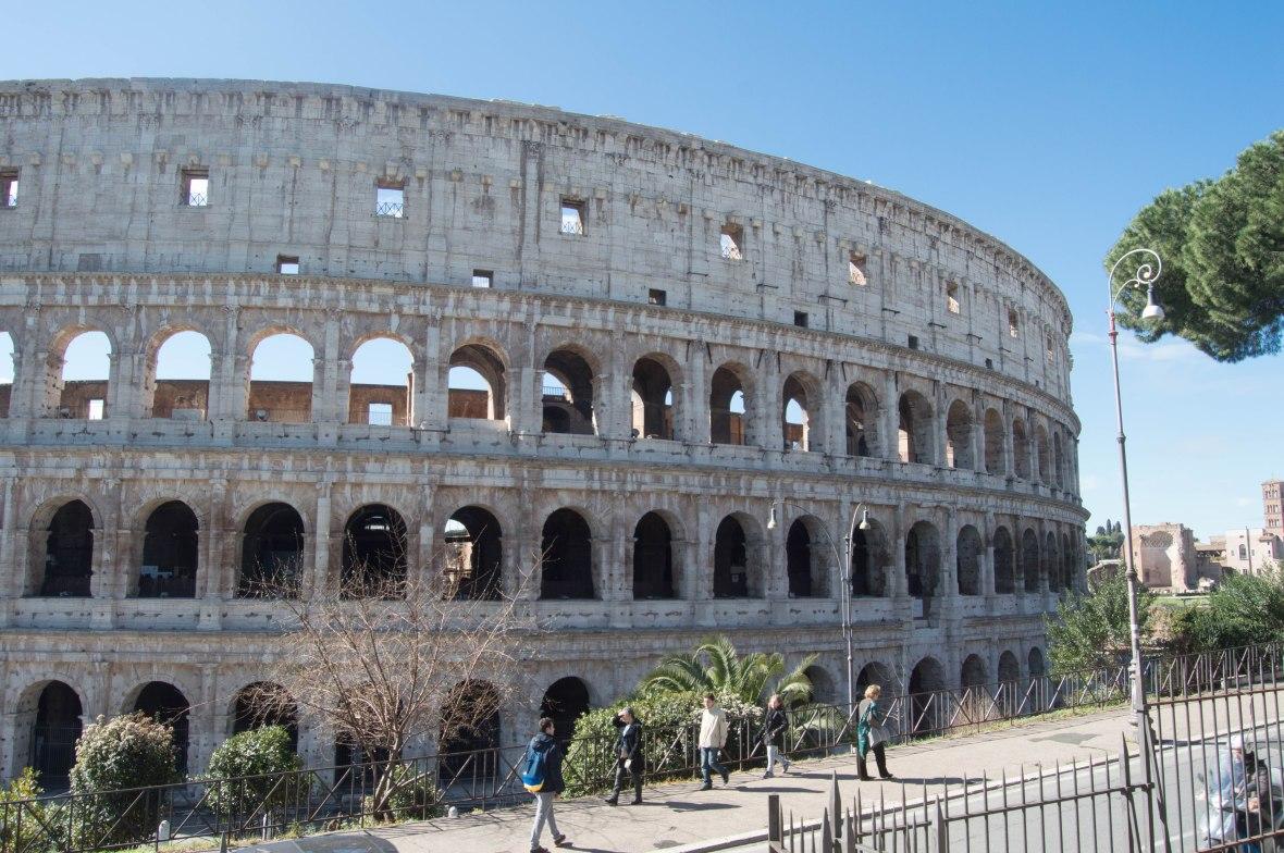 Colosseum, Parco Del Colle Oppio, Rome, Italy