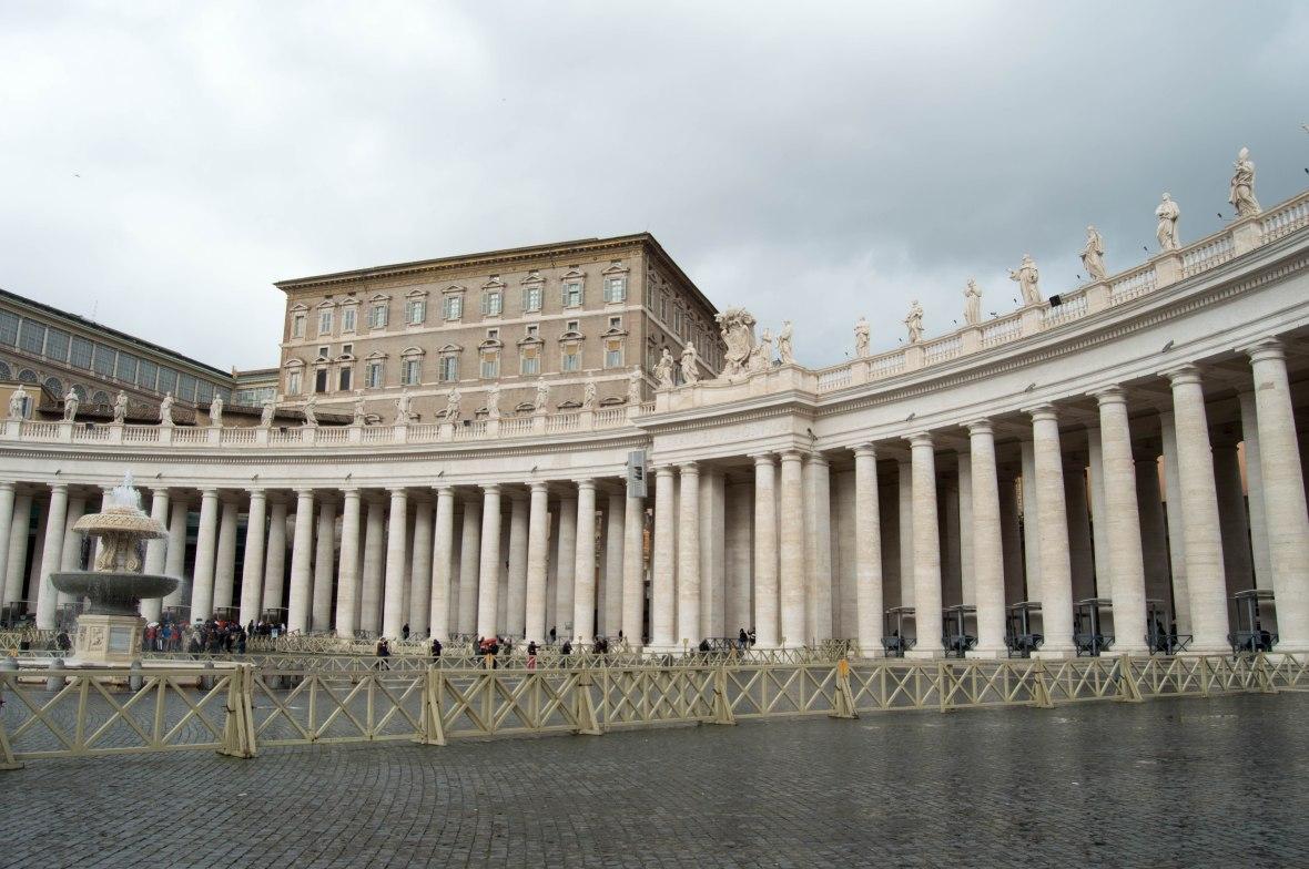Columns, Basilica Di San Pietro, Vatican