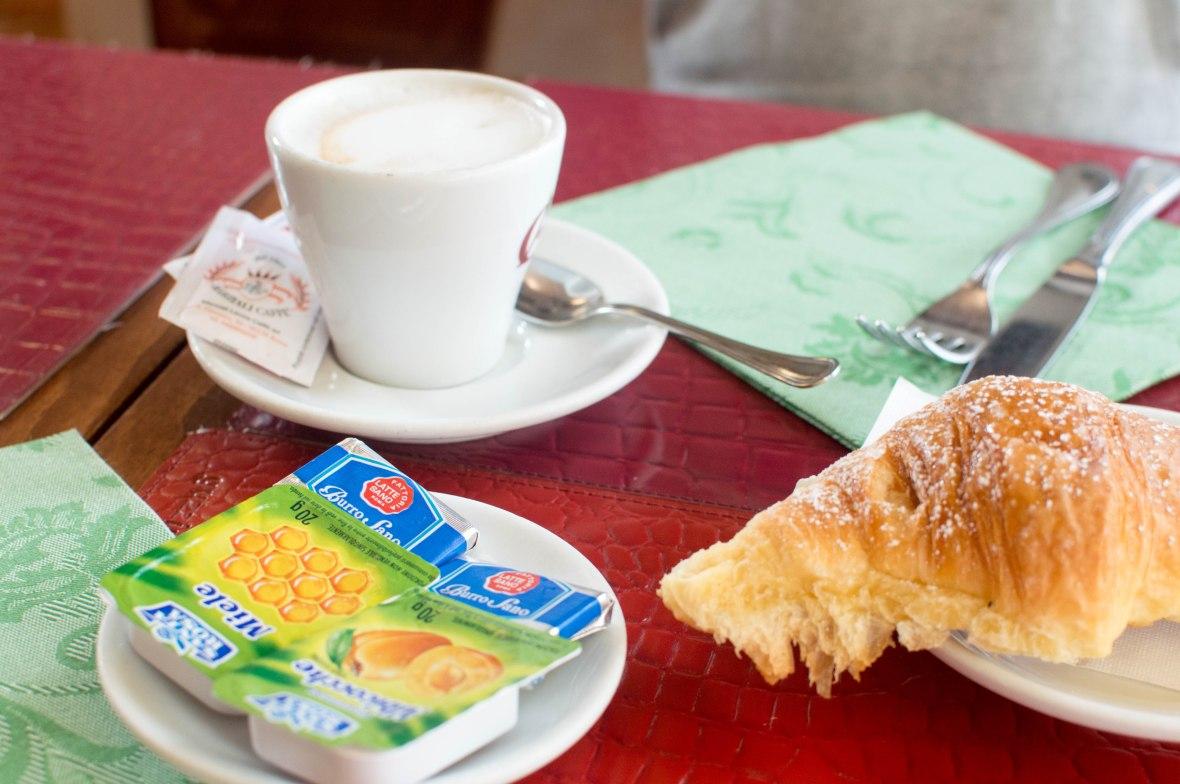 Croissant, Nova Caffe, Rome, Italy