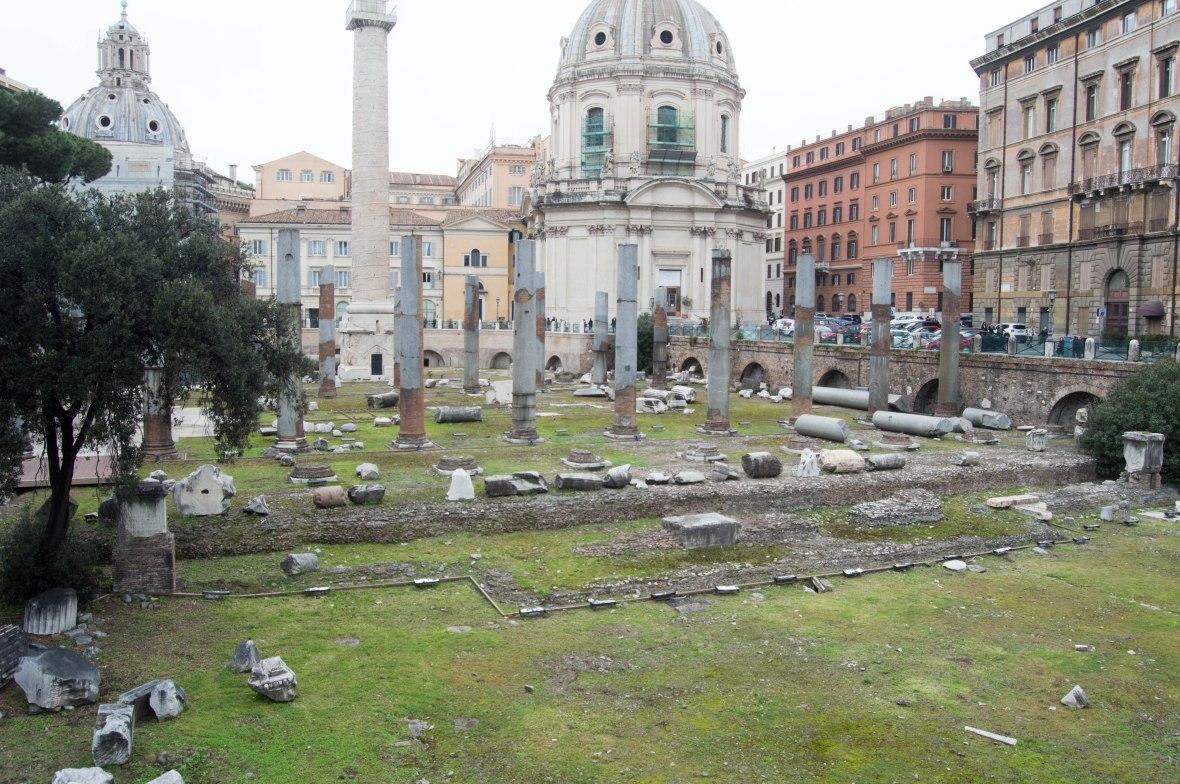 Crumbling Pillars, Rome, Italy