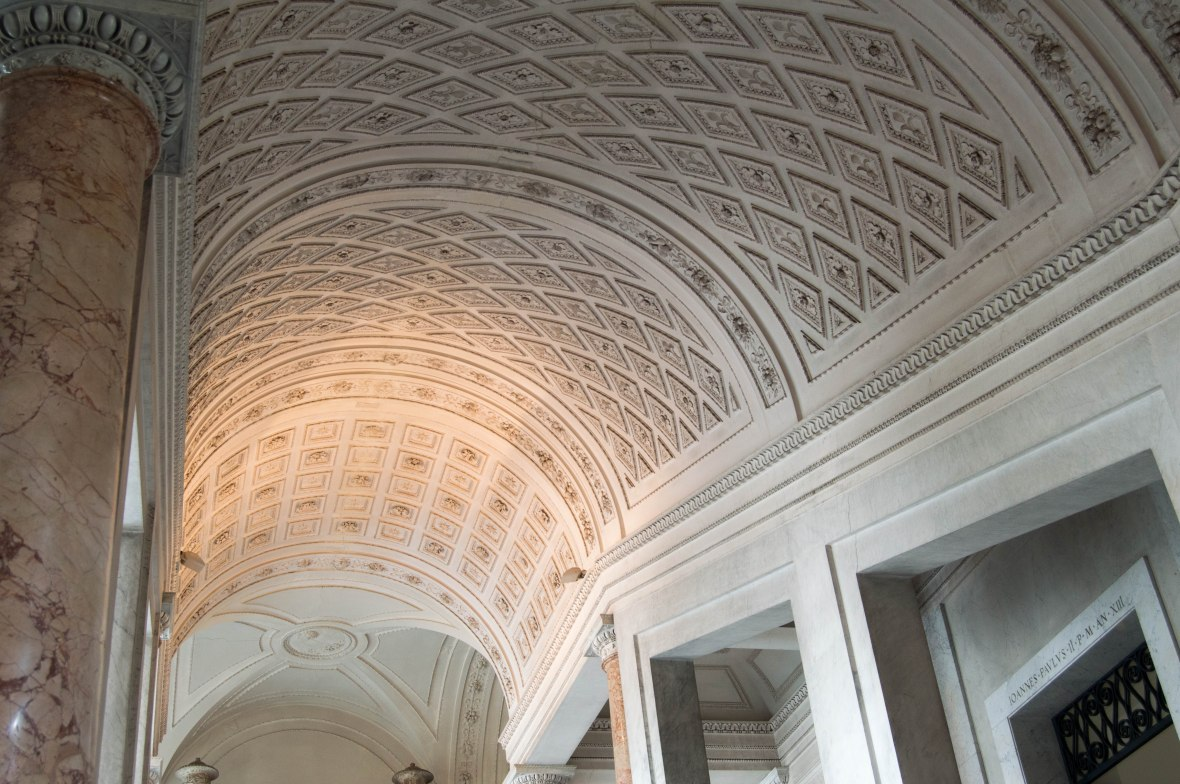 Detailed Ceilings, Vatican Museum