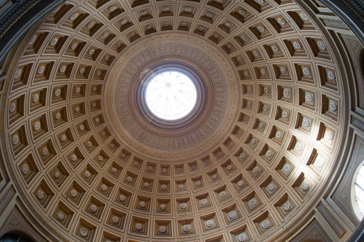 Domed Ceiling, Vatican Museum