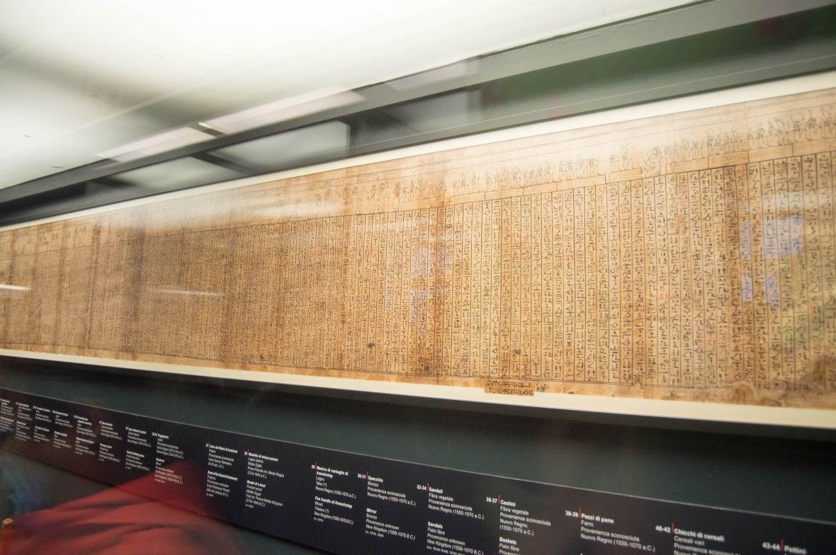 Egyptian Hieroglyphs, Vatican Museum