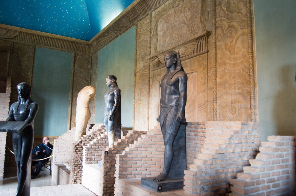Egyptian Statues, Vatican Museum