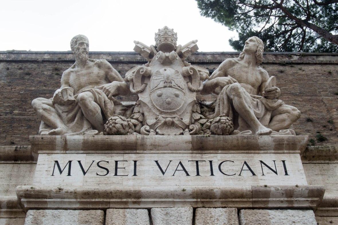 Entrance, Mvsei Vaticani, Vatican Museum