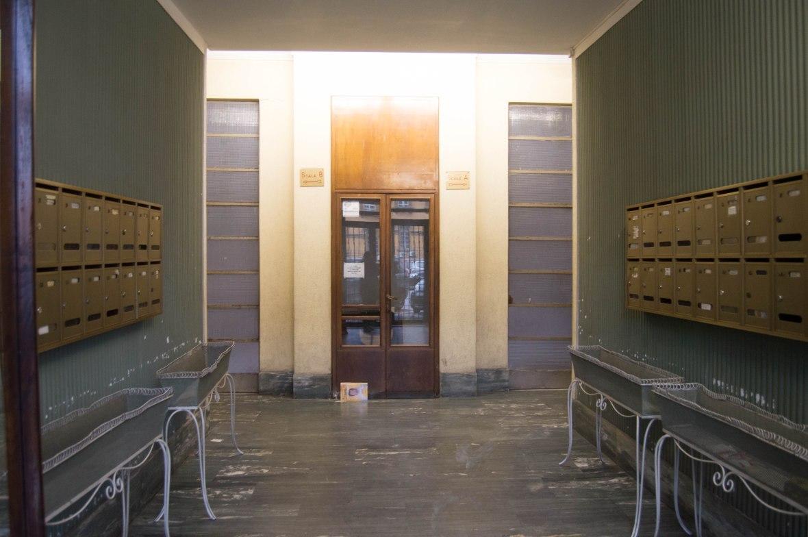 Entranceway, Via Ostiense, Rome, Italy
