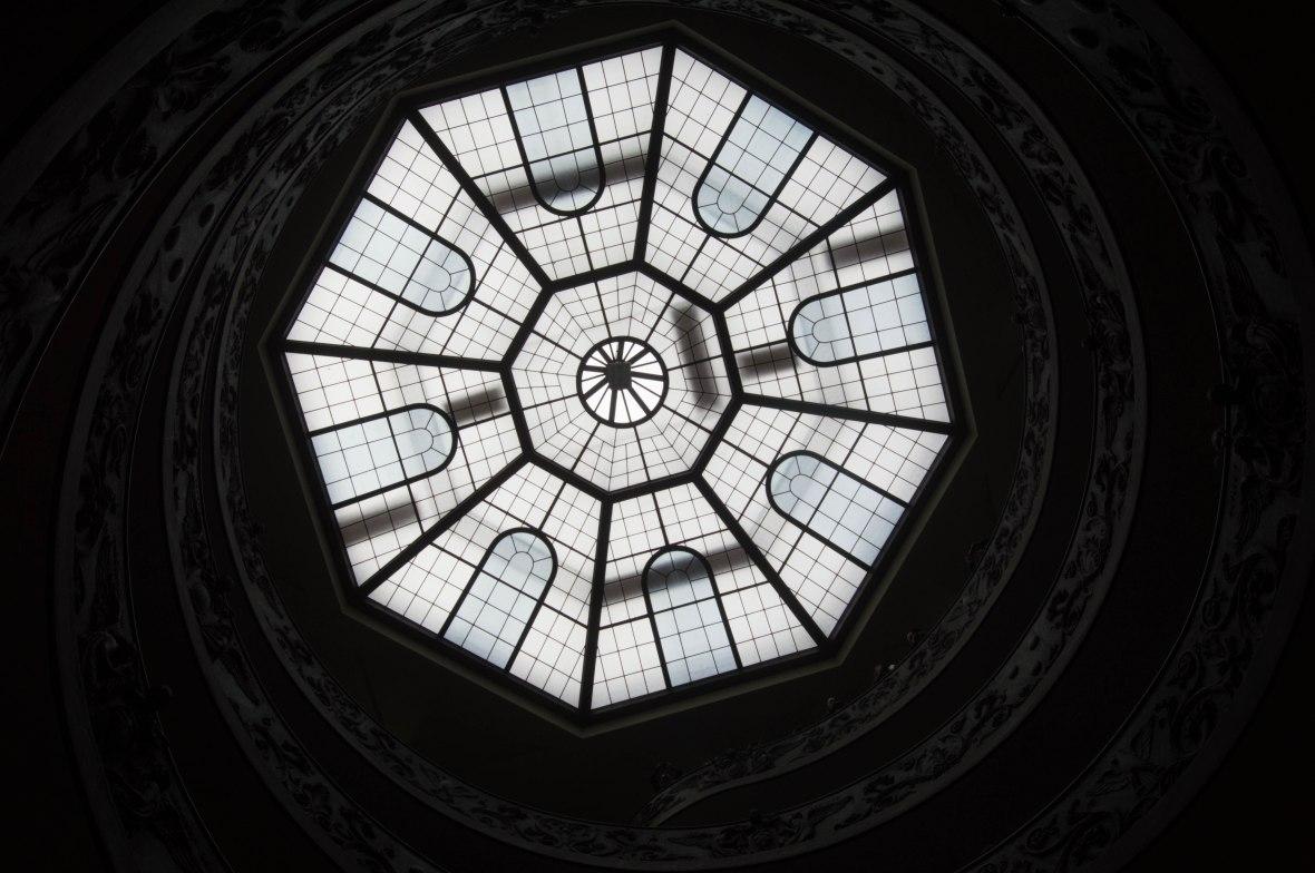 Exit Ceiling, Vatican Museum