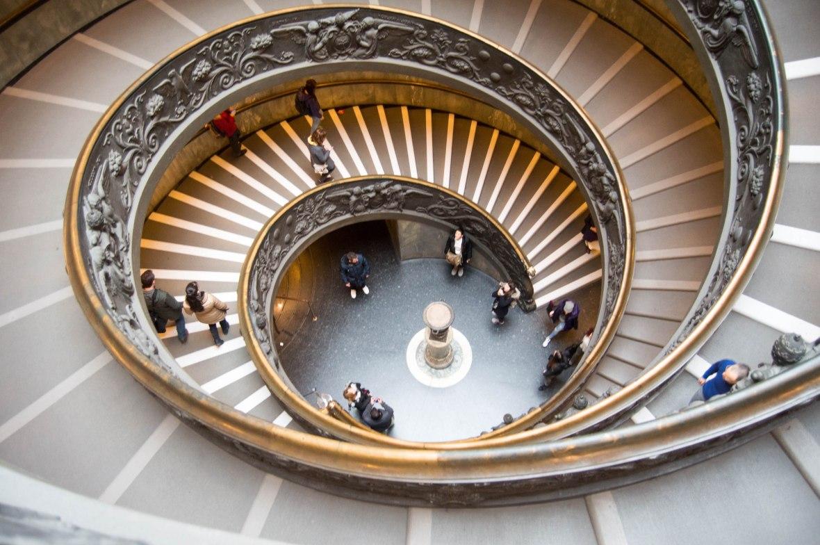 Exit Stair Case, Vatican Museum