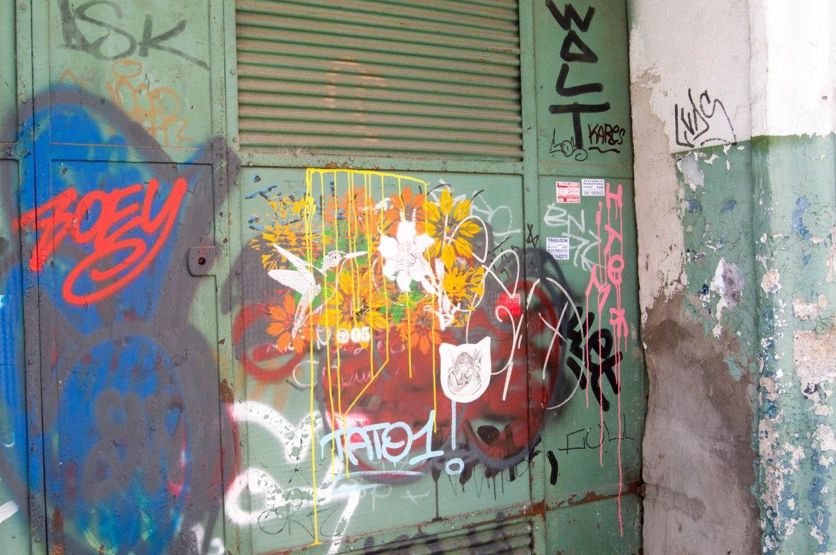 Graffiti, Rome, Italy