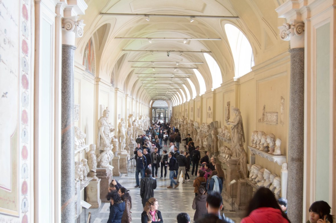 Hall Of Sculptures, Vatican Museum