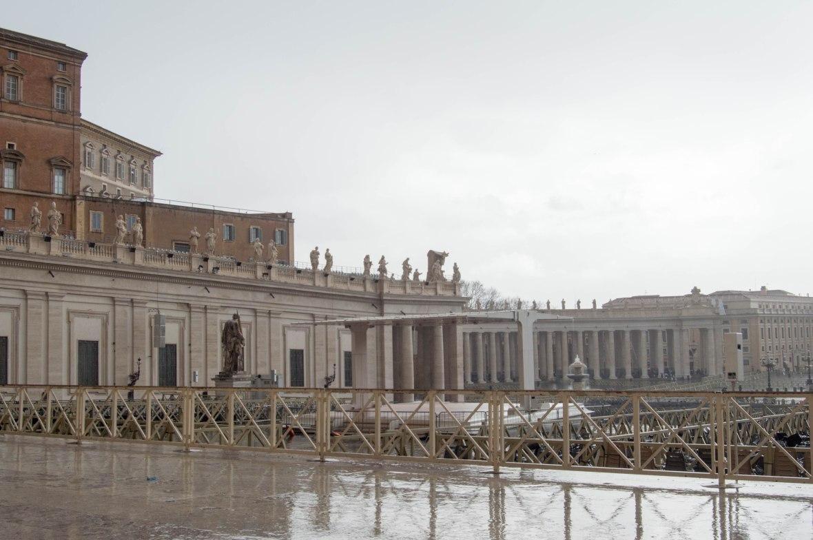 Heavy Rainfall, Basilica Di San Pietro, Vatican