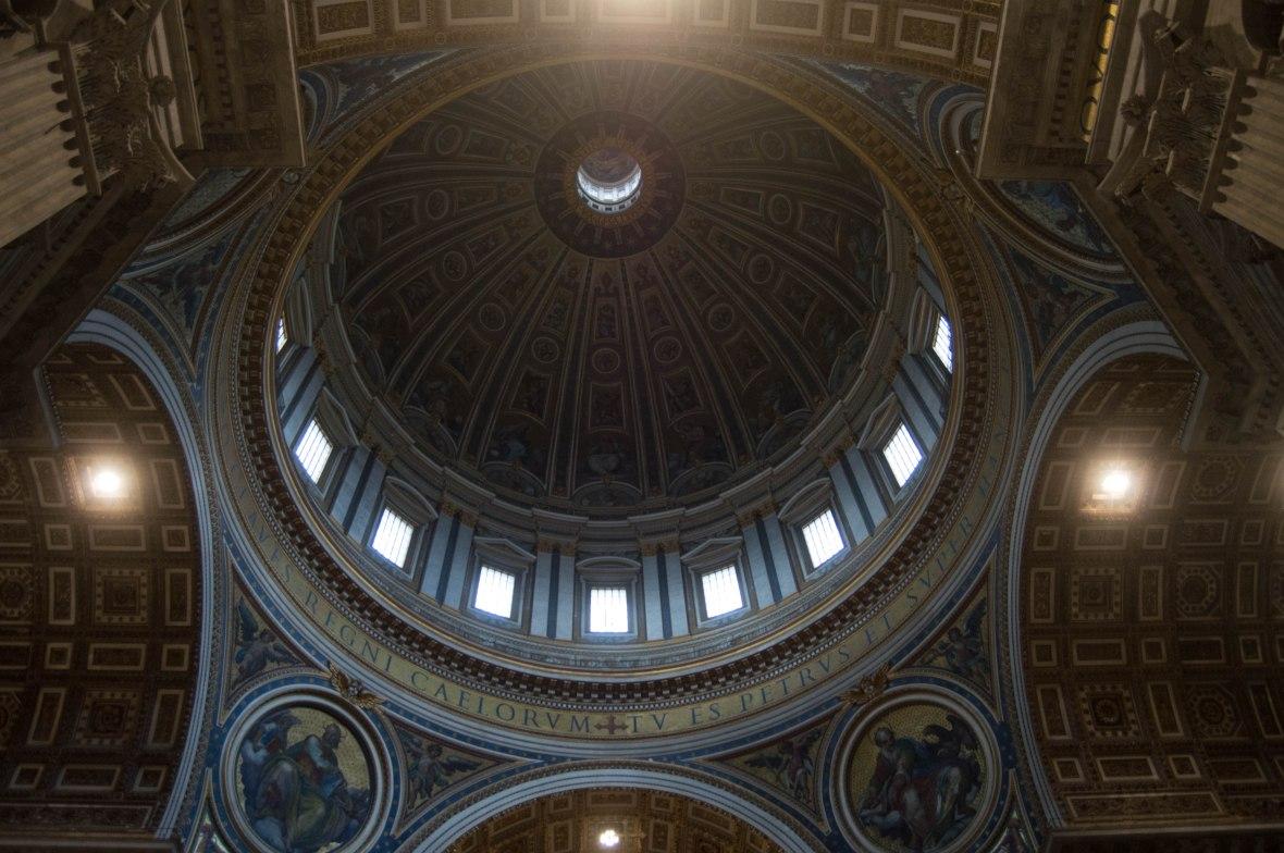 Inside Dome, Basilica Di San Pietro, Vatican