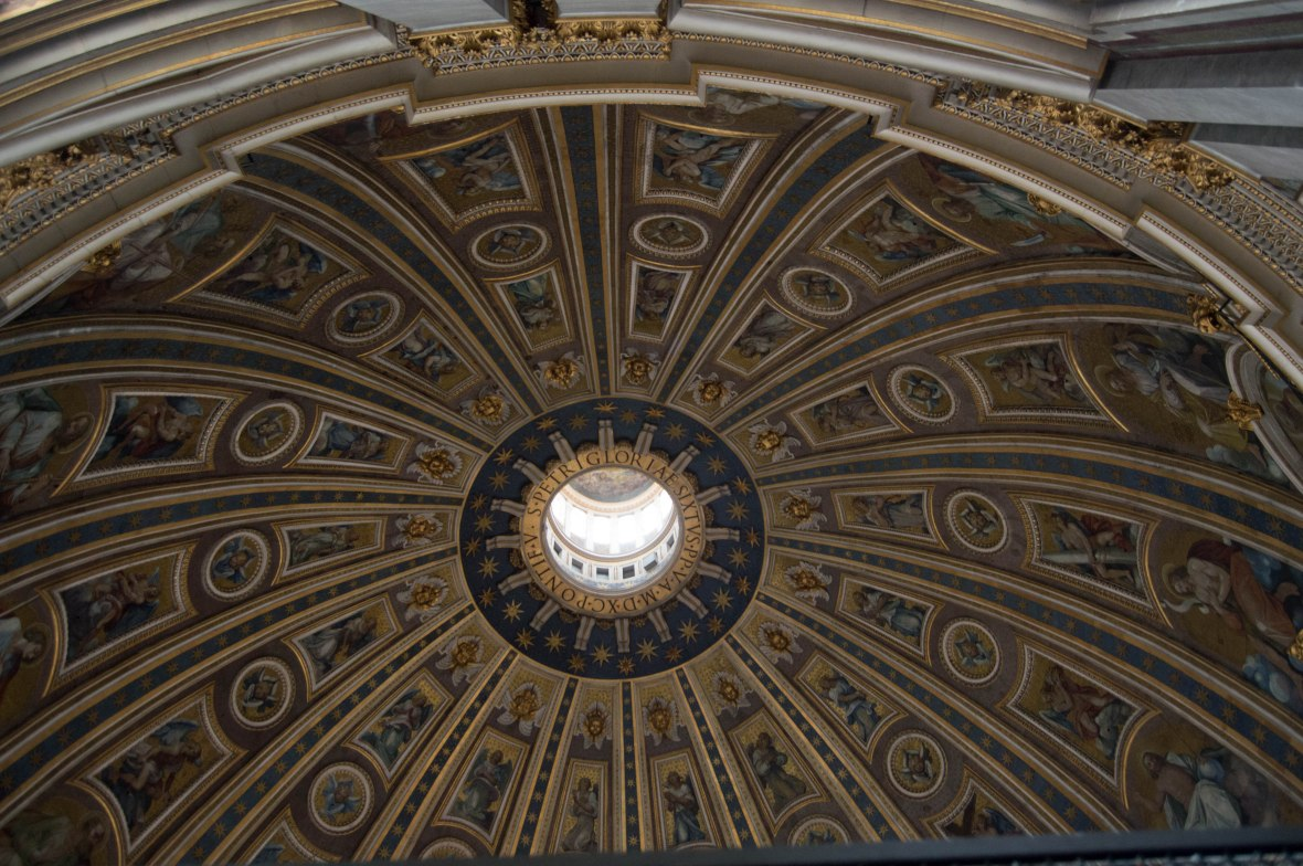 Inside The Dome, Basilica Di San Pietro, Vatican