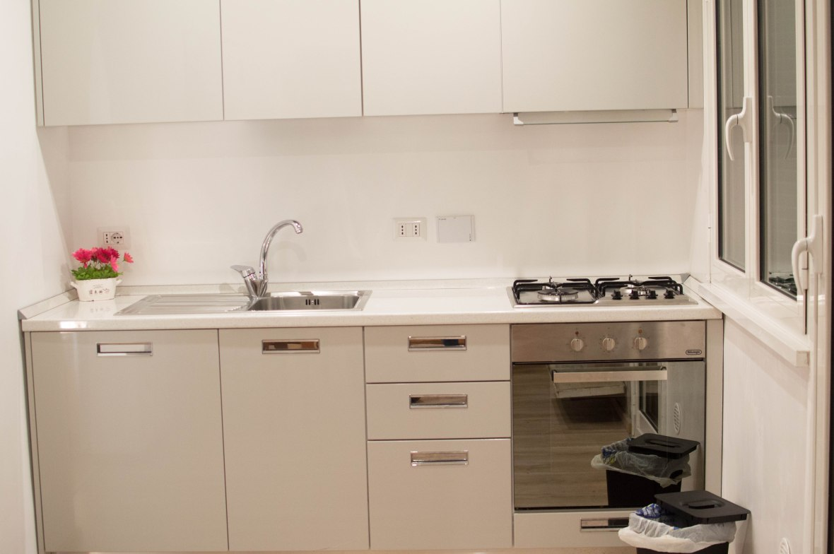 Kitchen, AirBnB, Rome, Italy