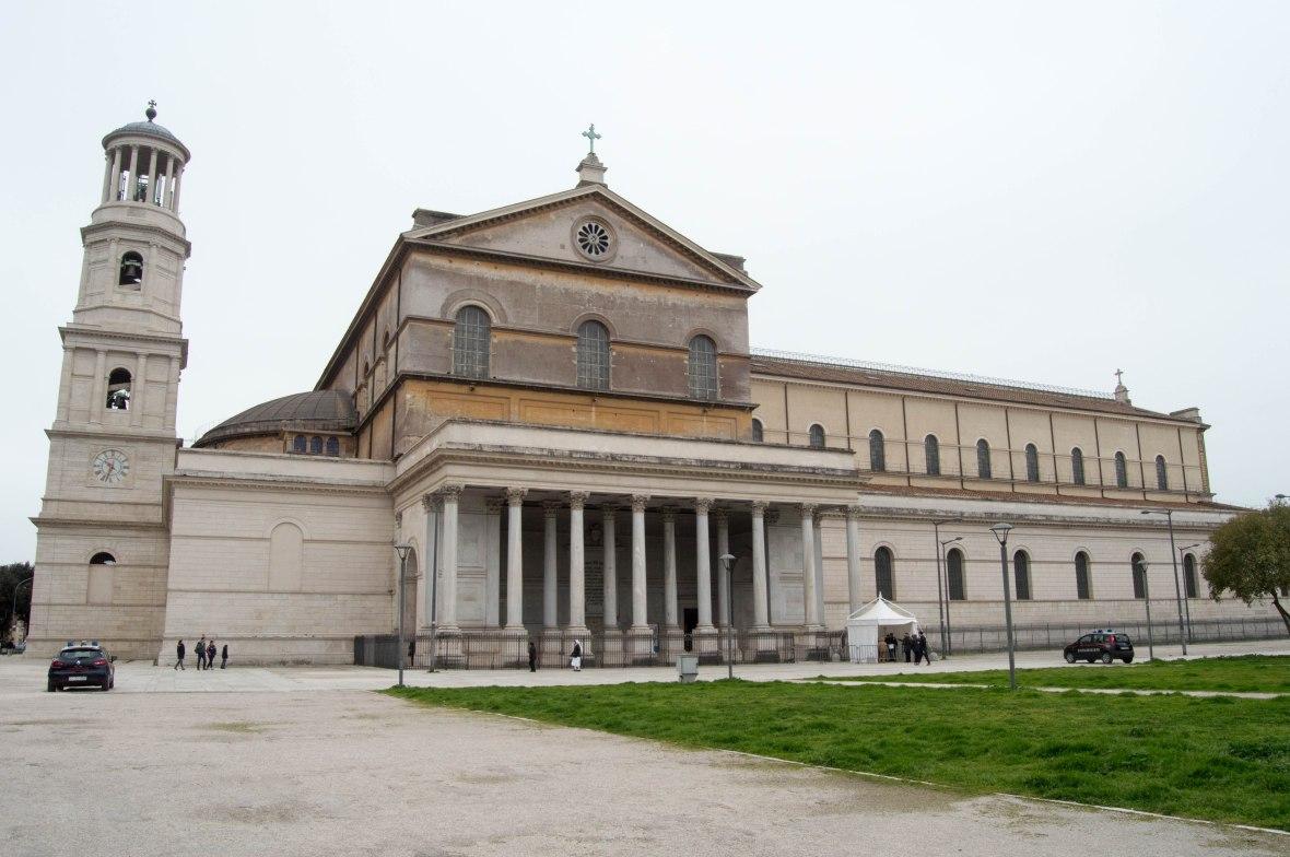 La Basilica di San Paolo, Rome, Italy