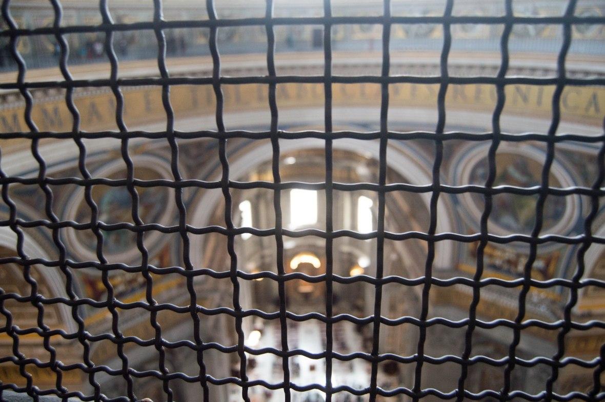 Looking Down, Chapel, Basilica Di San Pietro, Vatican