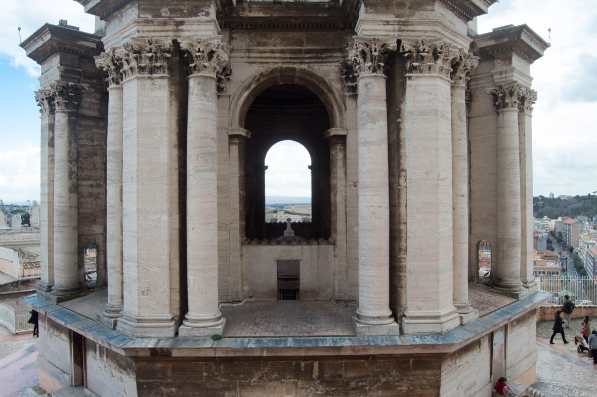 Looking Out, Basilica Di San Pietro, Vatican