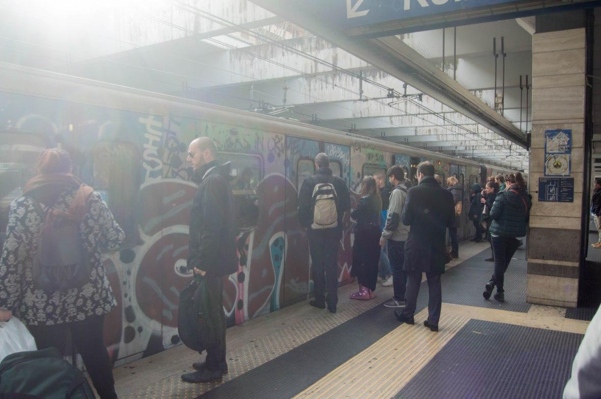 Metro, Rome, Italy