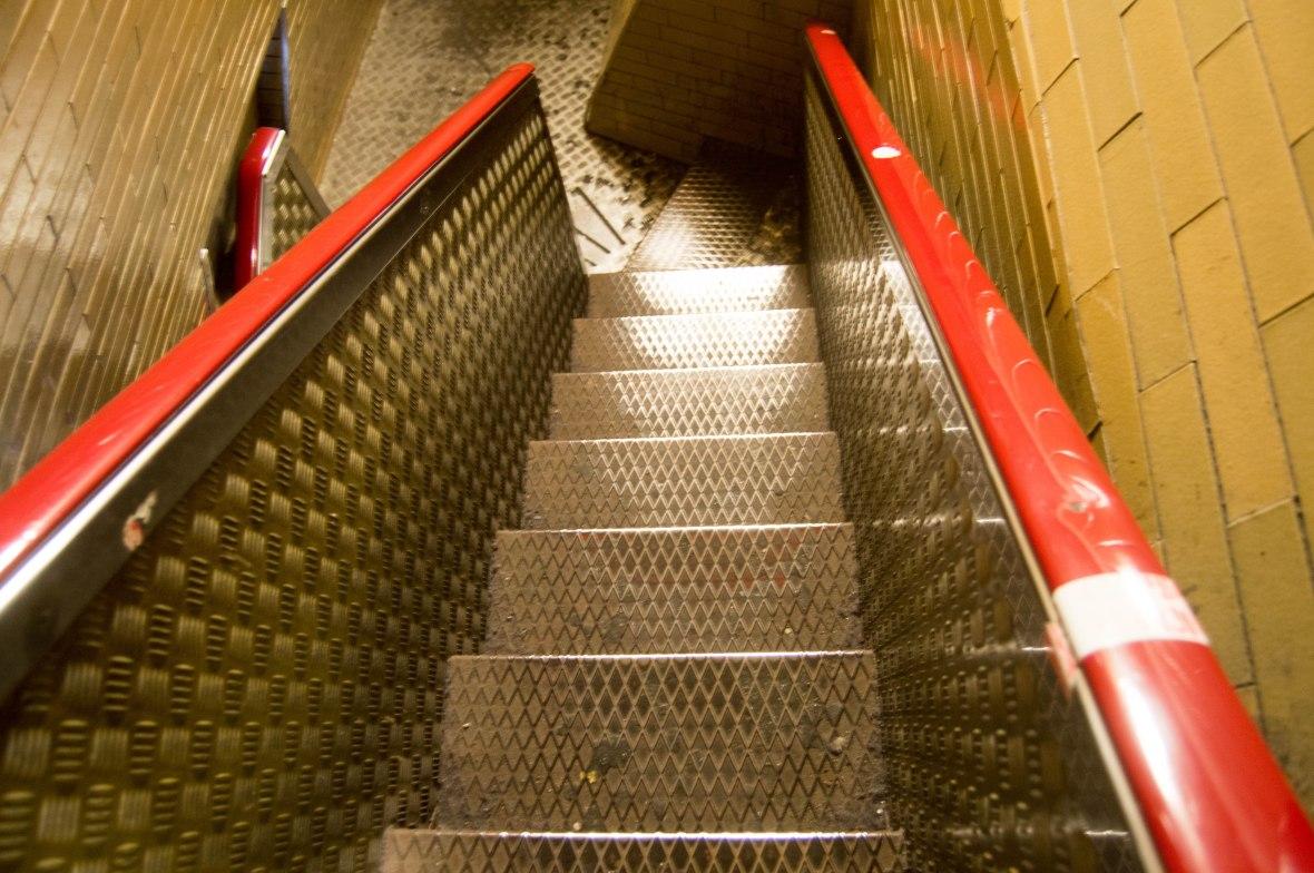 Narrow Stairs, Basilica Di San Pietro, Vatican