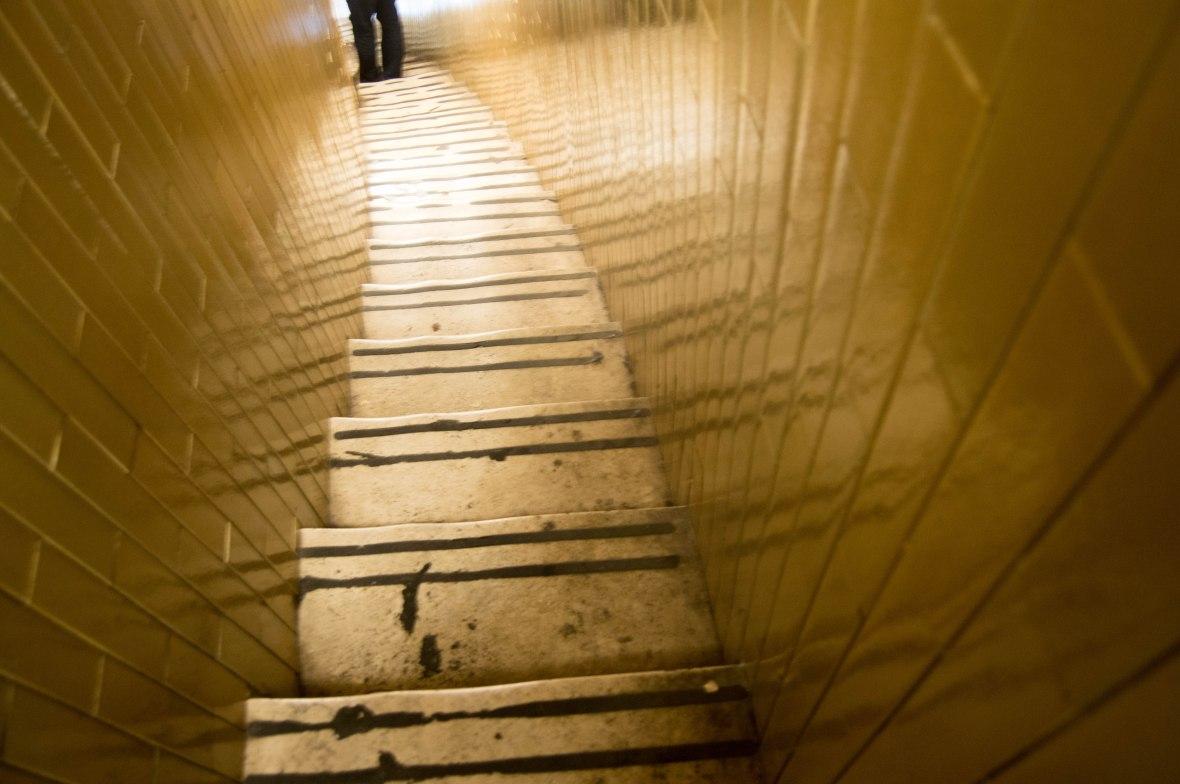 Narrow Stairwell, Climbing The Dome, Basilica Di San Pietro, Vatican