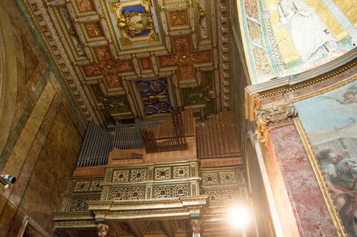 Organs, Basilica Di Santa Francesca Romana, Rome, Italy