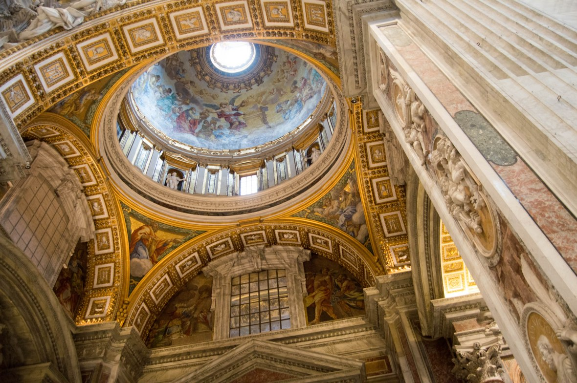 Painted Dome, Basilica Di San Pietro, Vatican