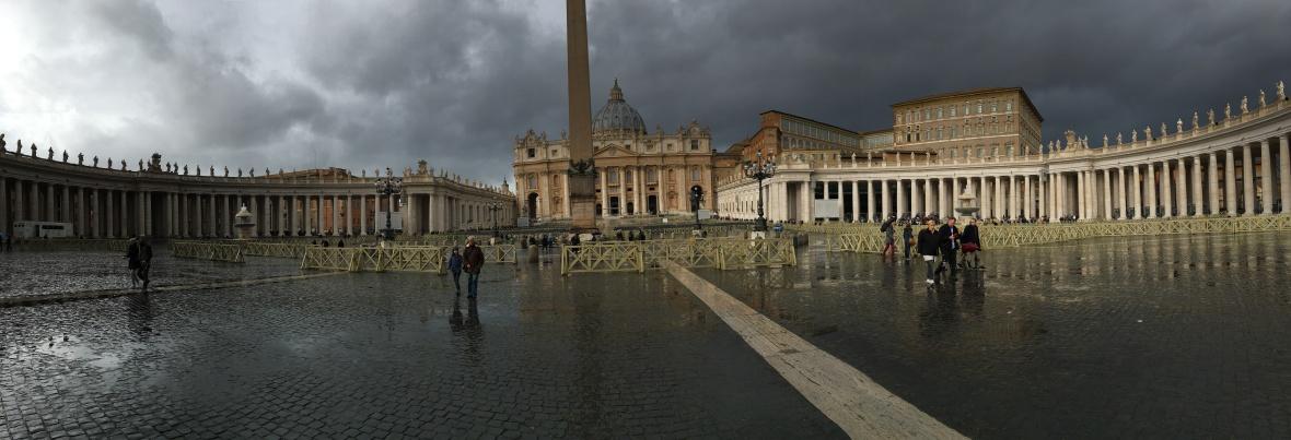 Panoramic, Basilica Di San Pietro, Vatican