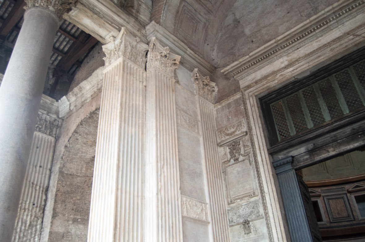 Pantheon Pillar, Rome, Italy