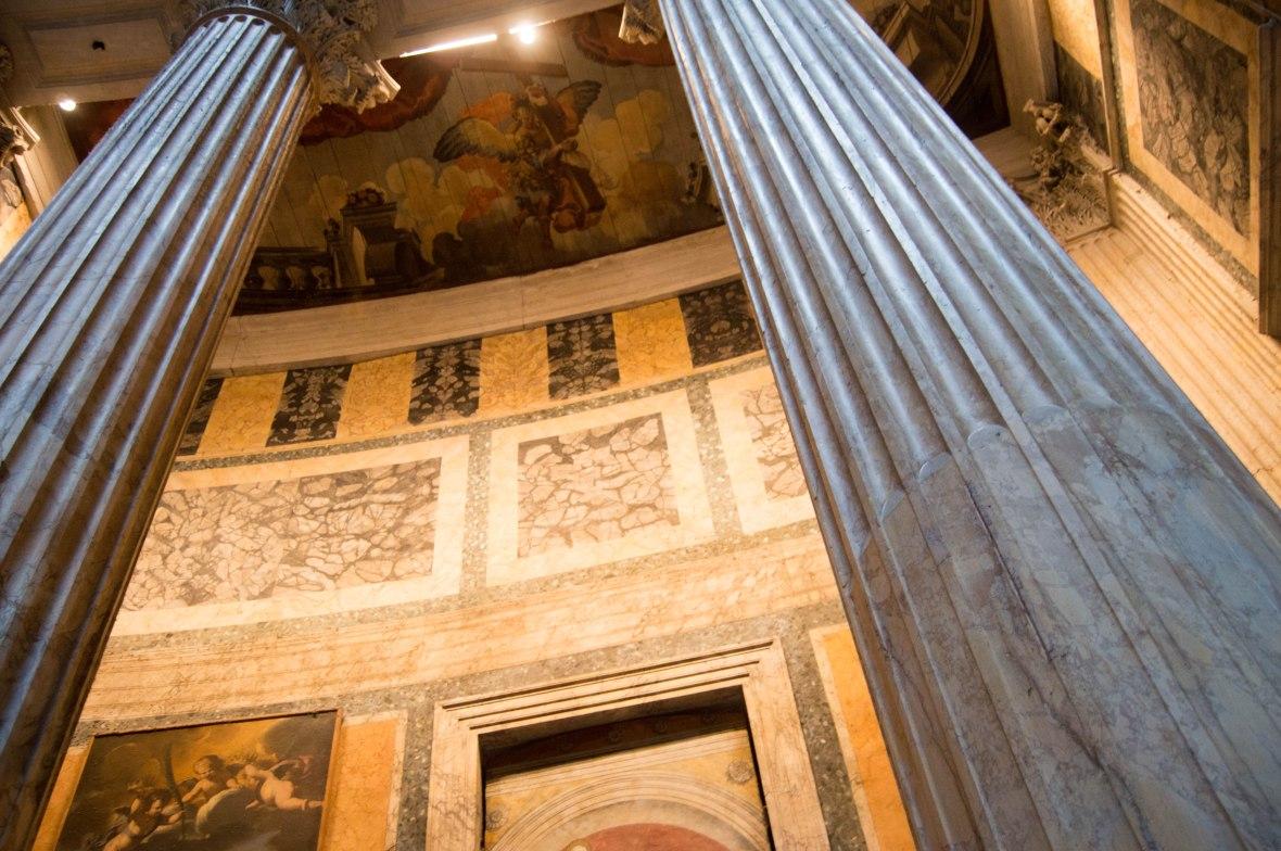 Pillars, Pantheon, Rome, Italy