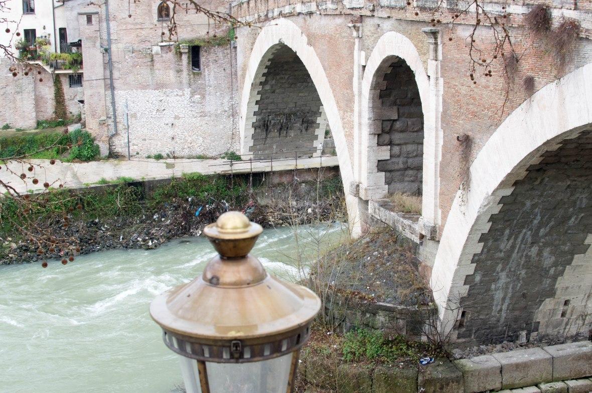 Ponte Fabricio, Rome, Italy