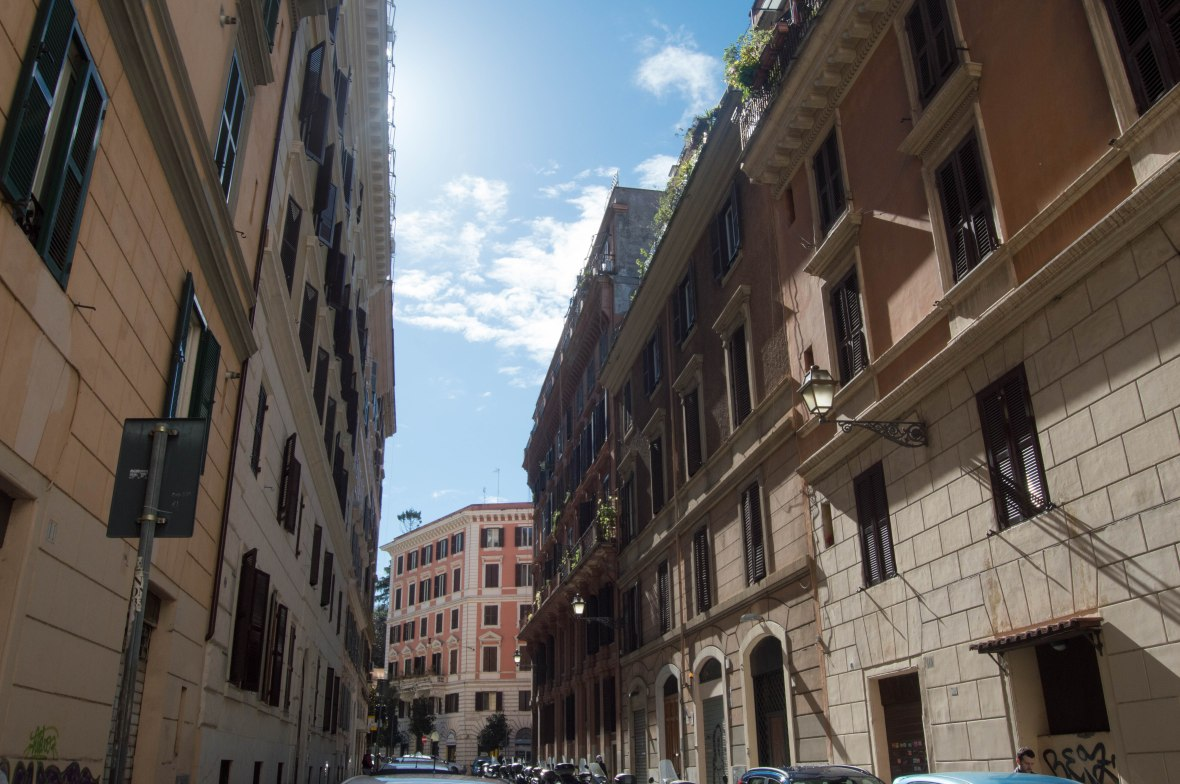 Pretty Streets Of Rome, Italy