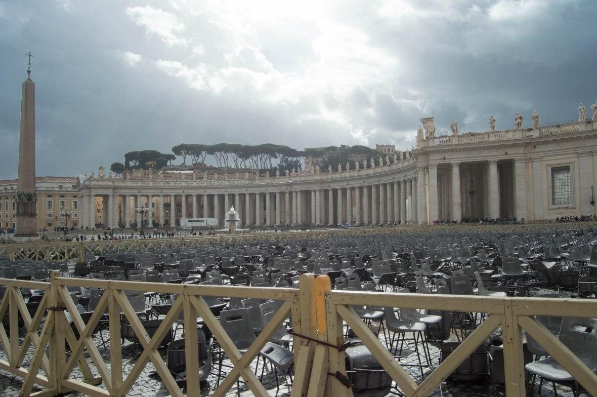 Rain Clouds, Basilica Di San Pietro, Vatican