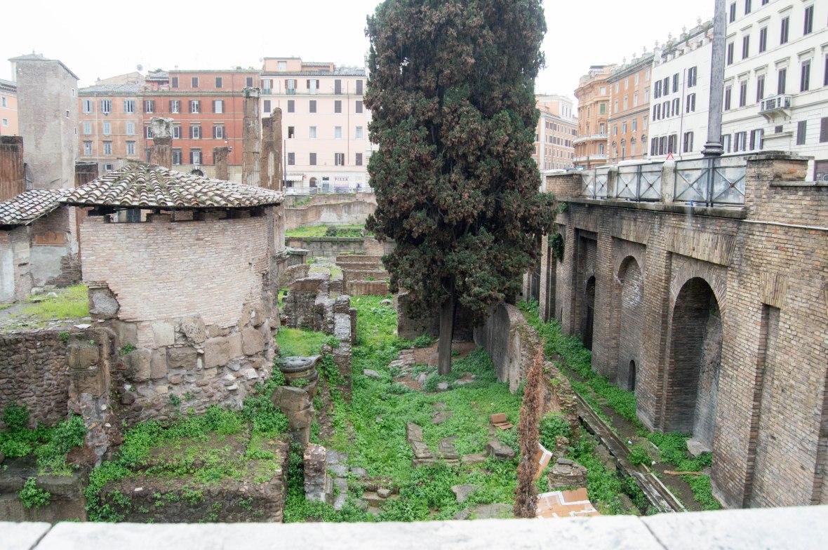 Ruins, Rome, Italy