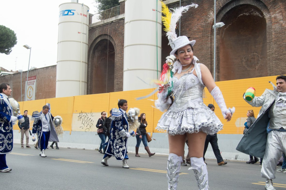 South American Street Carnival, Rome, Italy