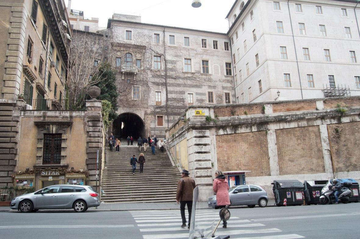 Steps To Basilica Di San Pietro In Vincoli, Rome, Italy