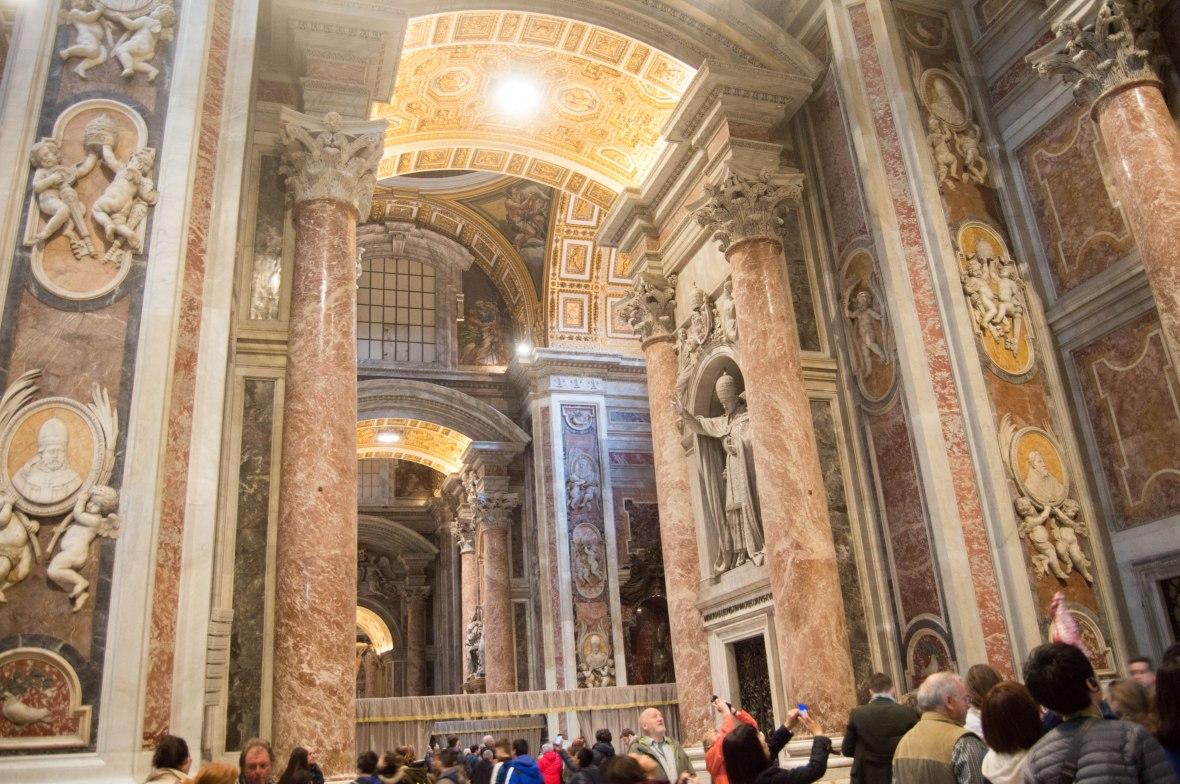 Stone Work, Basilica Di San Pietro, Vatican