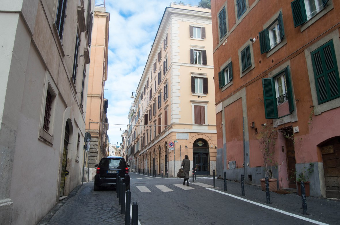 Streets Of Cavour, Rome, Italy