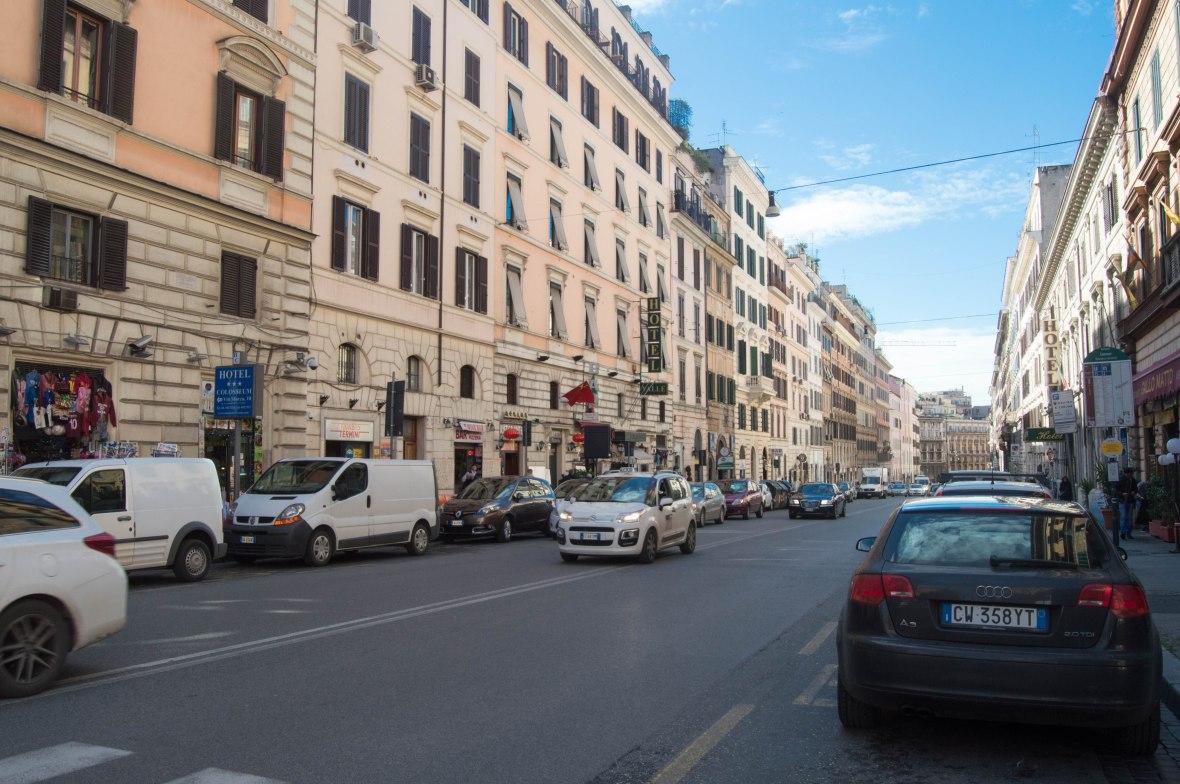 Via Cavour, Rome, Italy