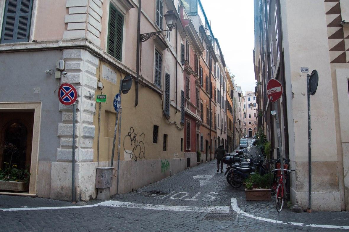 Via Cimarra, Rome, Italy